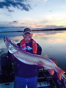 Tony's biggest Muskie to date